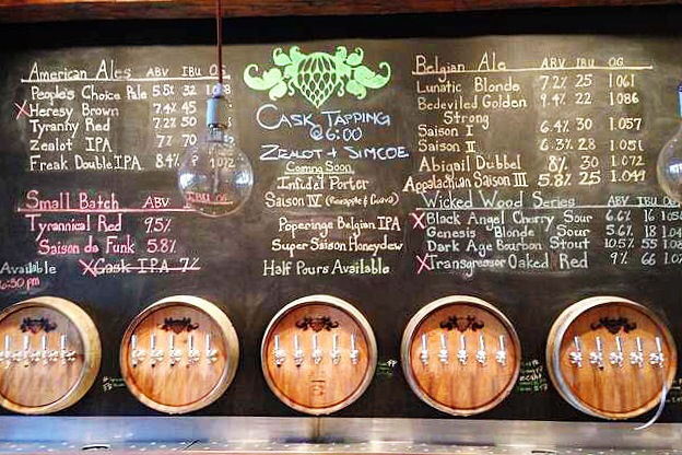wicked weed asheville north carolina