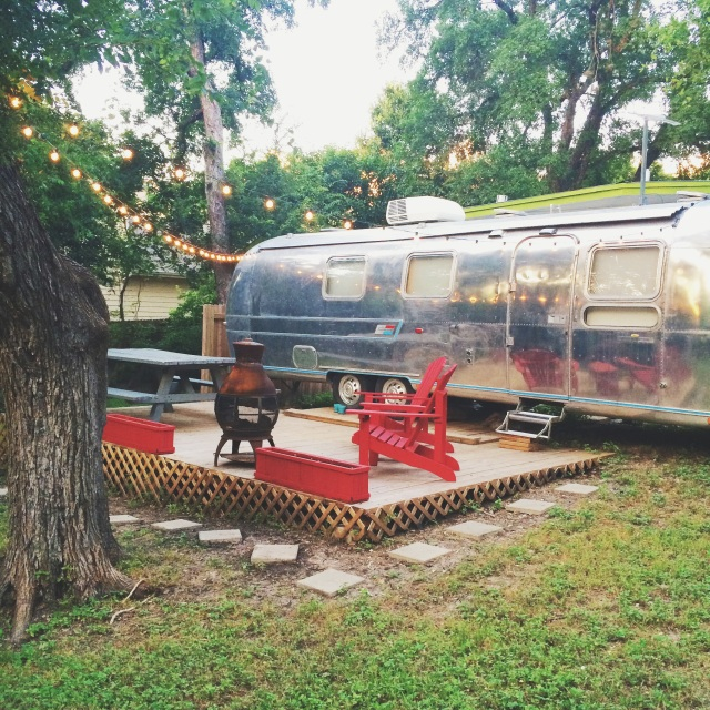 airbnb austin vintage airstream
